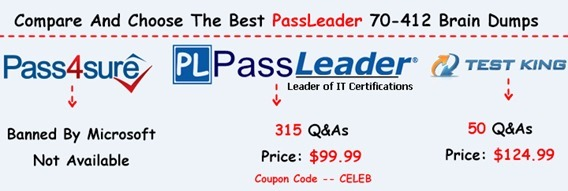 PassLeader 70-412 Brain Dumps[7]